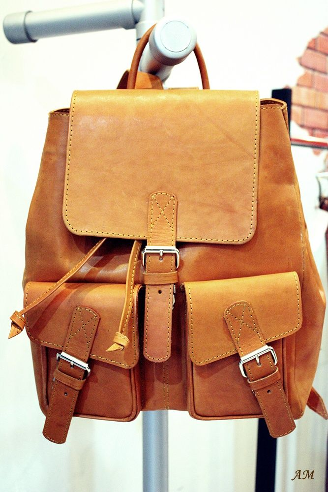 Leather Backpack - Now available at Fel&Co Store for special price Rp 750.000 Go get it!
