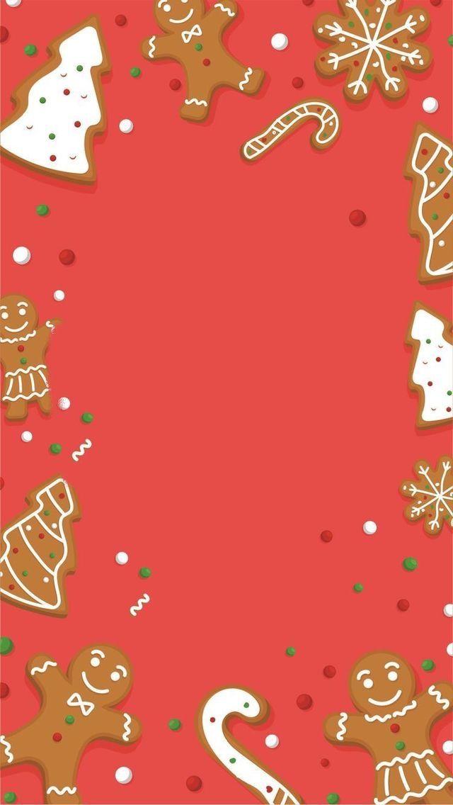 🦌 🎅 Wallpaper de noël – Biscuits pain d'épice  ⛄ 🎄  Fond d'écran de noël pour mobile IPhone et Android #noel #fenetre #habitation #vivahabitation #decoration #decorationInterieur #amenagement #design #wallpaper #decoDeNoel