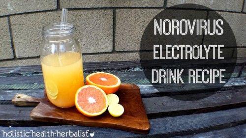 Norovirus Electrolyte Drink Shea Bear