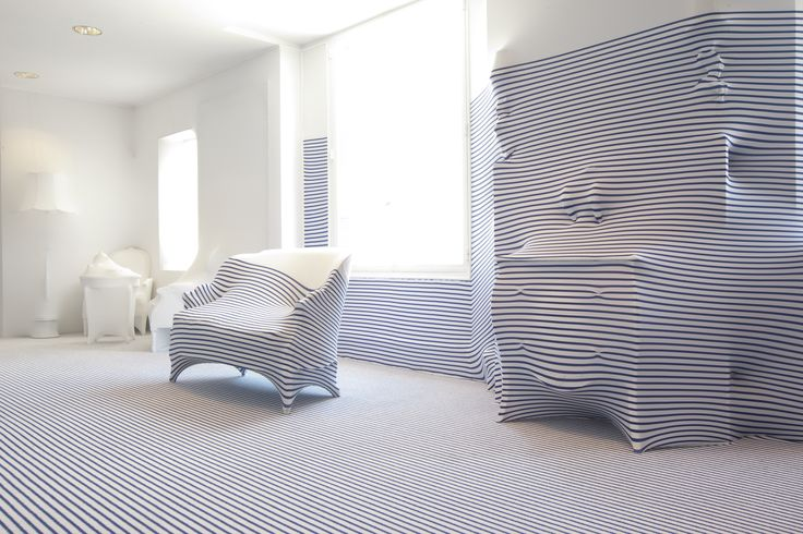 Location: La Suite Elle Decoration, France Design: Jean Paul Gaultier www.egecarpets.com