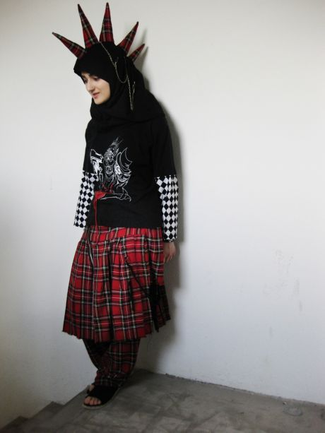 """A friend of mine says that one defines a punk as opposed to one or another form of oppression. I'm tired of people's generalizations and stereotypes about Muslim girls. Therefore, I am punk."" Tesnim Sayar, Denmark  thst is literally the tightest shit i have ever seen"