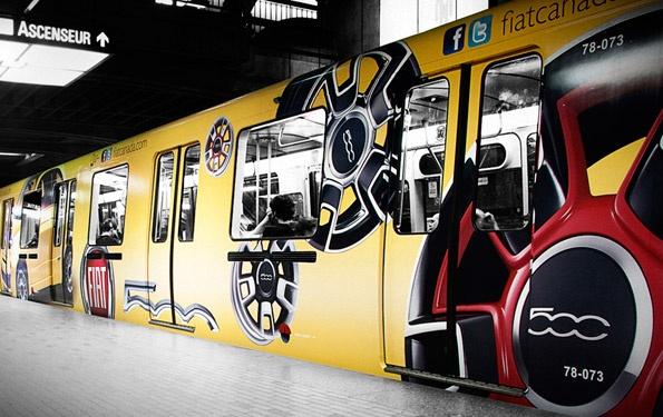 Metro FIAT 500 Wrap