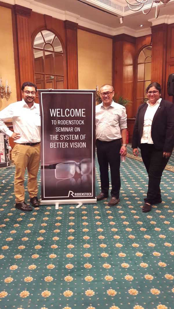 Rodenstock and Vision Rx Lab collaborate into a successful launch of a completely new Generation 2 lens products in India.  #VisionRxLab #RodenstockLaunch #IndustryNews #LatestUpdates