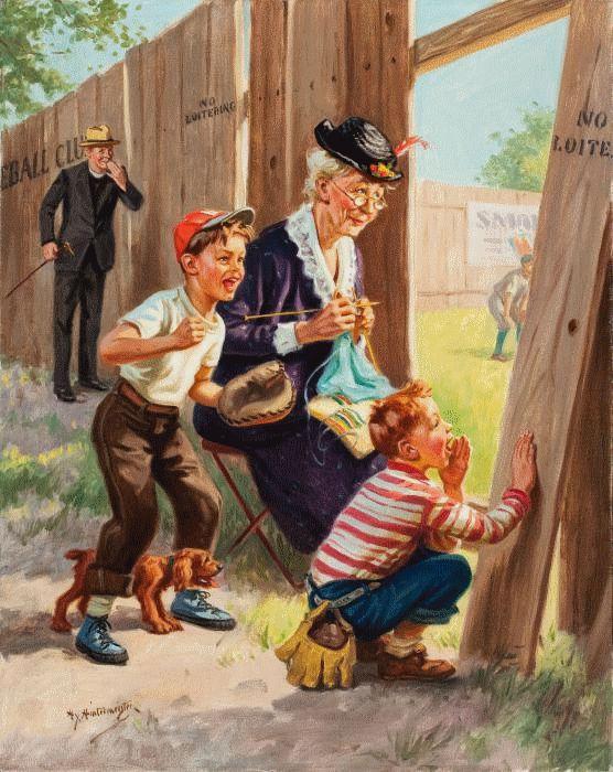 peinture de HENRY HINTERMEISTER
