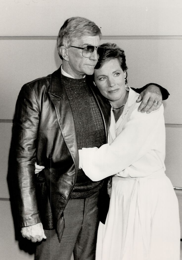 After getting a divorce from her first husband in 1967, Julie met the love of her life: director Blake Edwards, whom she was married to from 1969 until his death in 2010. Edwards directed iconic films like Breakfast at Tiffany's, The Pink Panther, and 10, making him almost as legendary as his wife. Oh, and did we mention he directed Andrews in Victor/Victoria, the film from the previous slide? Talk about a power couple!  - GoodHousekeeping.com