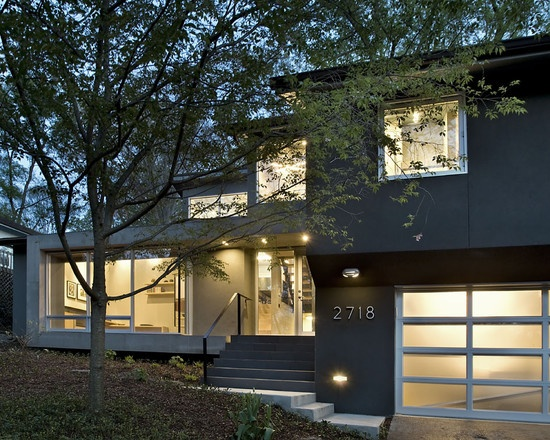 Arlington Residence   Contemporary   Exterior   Dc Metro   KUBE  Architecture Addition Above The Garage On A Split Level Nice Look