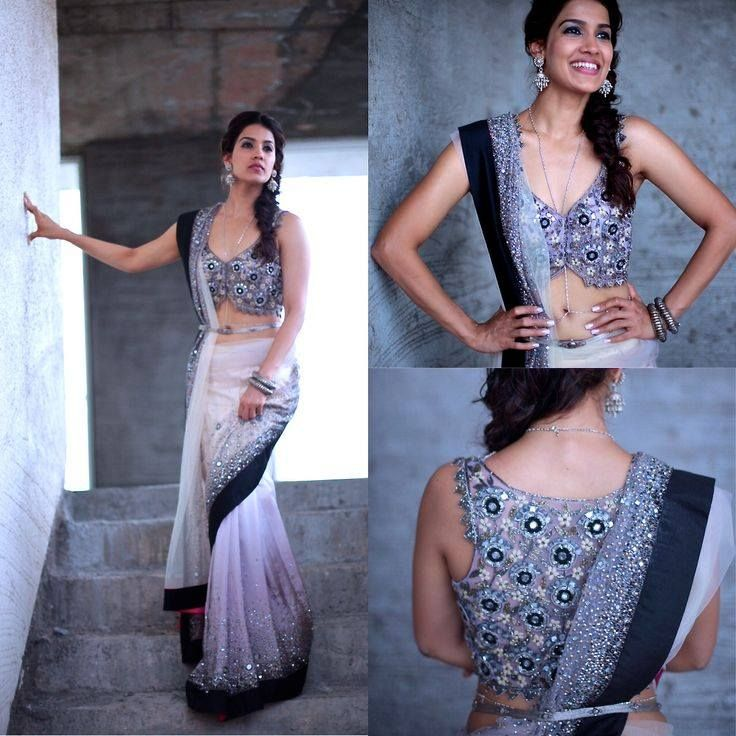 A piece that demands a second look #Saree Collection from Salore #If interested Text/whatsapp on (+91) 9643254736 or 9999184599 for your orders #Free of cost customizations #Free shipping worldwide