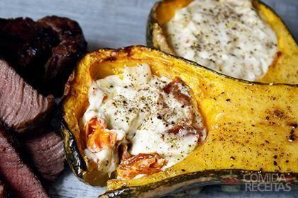 Receita de Abóbora assada com tomate seco em receitas de legumes e verduras, veja essa e outras receitas aqui!