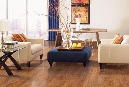 """Belle Meade 5"""" - Oak Butterscotch in Mohawk Flooring Hardwood"""