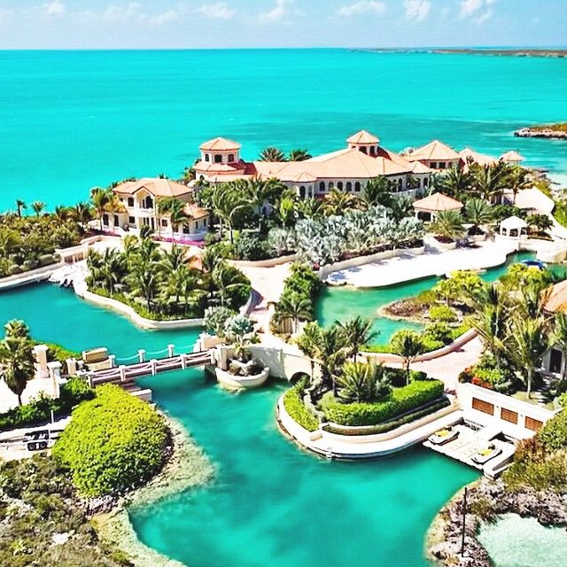 Believe it or not, this is not a resort... but it's a $29,000,000 Mega mansion on a private tropical island.