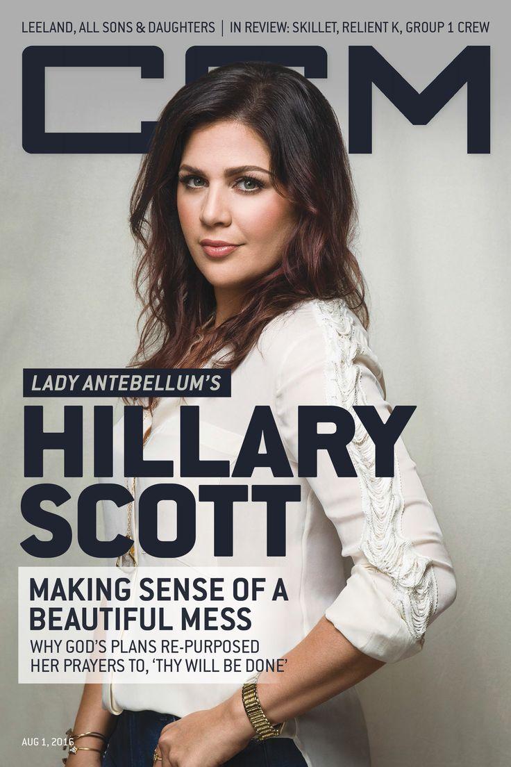 Hillary Scott, Lady Antebellum, CCM Magazine - image