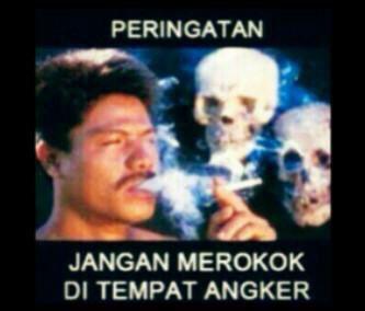 Janga merokok di tempat angker....ngeri!!!