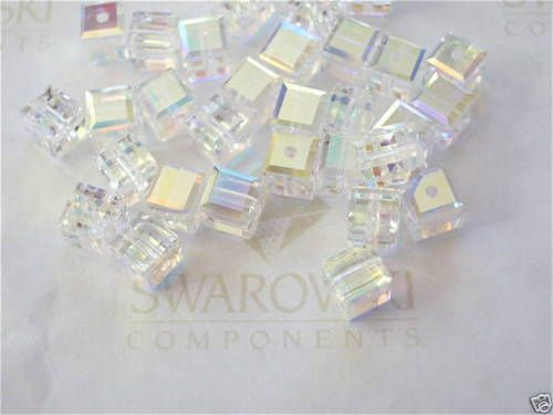 6-Crystal-AB-Swarovski-Crystal-Beads-Cube-5601-4mm
