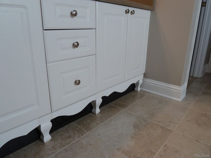 Diy Furniture Style Cabinet Builder Grade Legs And