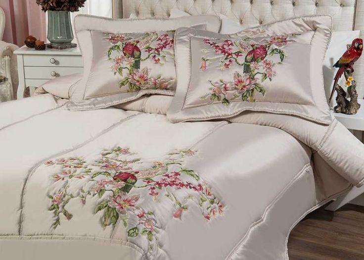 PARROT YATAK ÖRTÜSÜ BEJ - PARROT - YATAK ORTUSU - Ev Tekstili - Online Alışveriş Home Sweet Home'da!