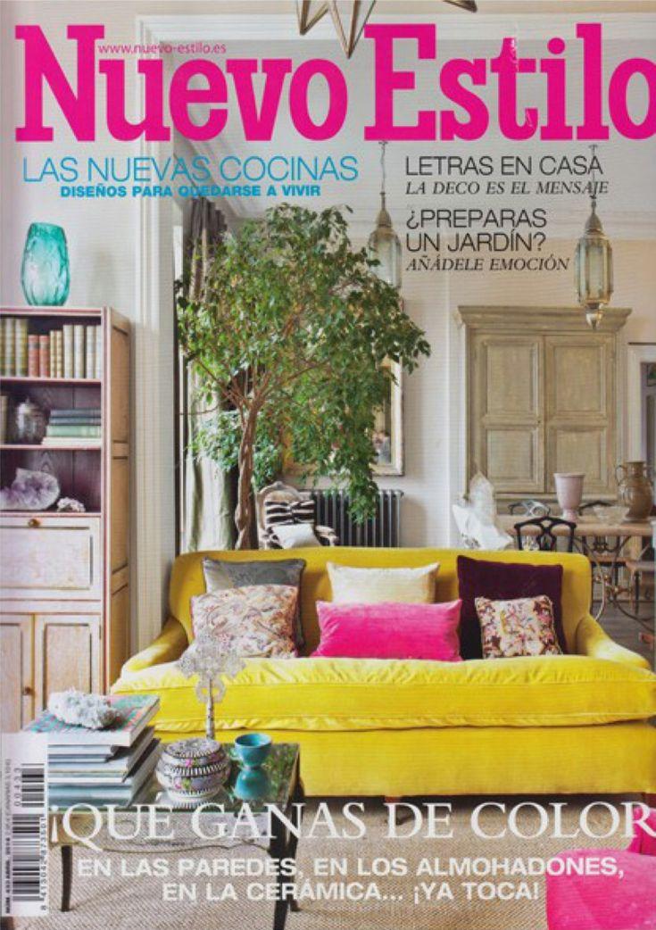 Revista nuevo estilo para la decoración