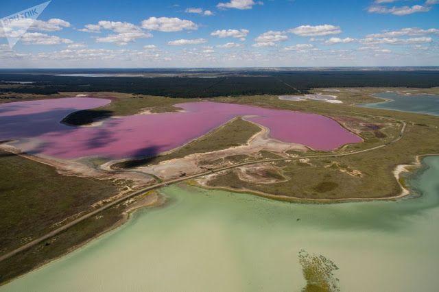 Тайны Планеты: Розовое озеро Алтая