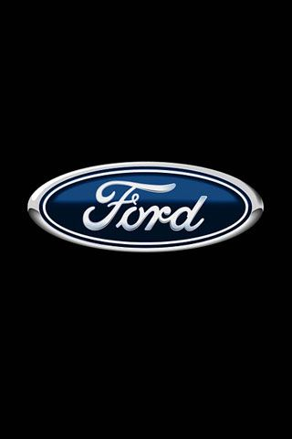 Ford Logo iPhone Wallpaper