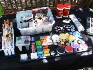 Lilly Walters, Face Painter in Claremont, La Verne, San Dimas, Fontana, Rancho Cucamonga