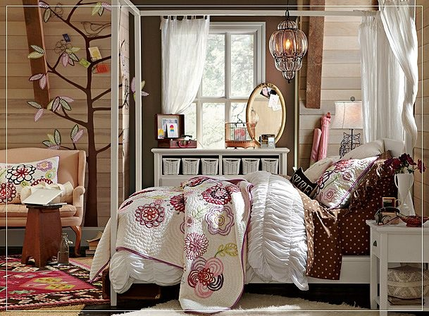 Love this room for a girl (someday?)