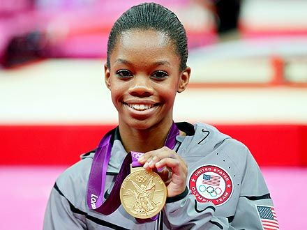 Gabby Douglas, The Girl with the Magic Smile, Takes Home All-Around Gold! Work!!