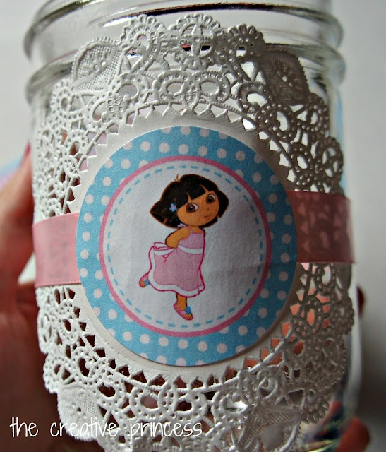 Dora #GluenGlitter Birthday Party Favors