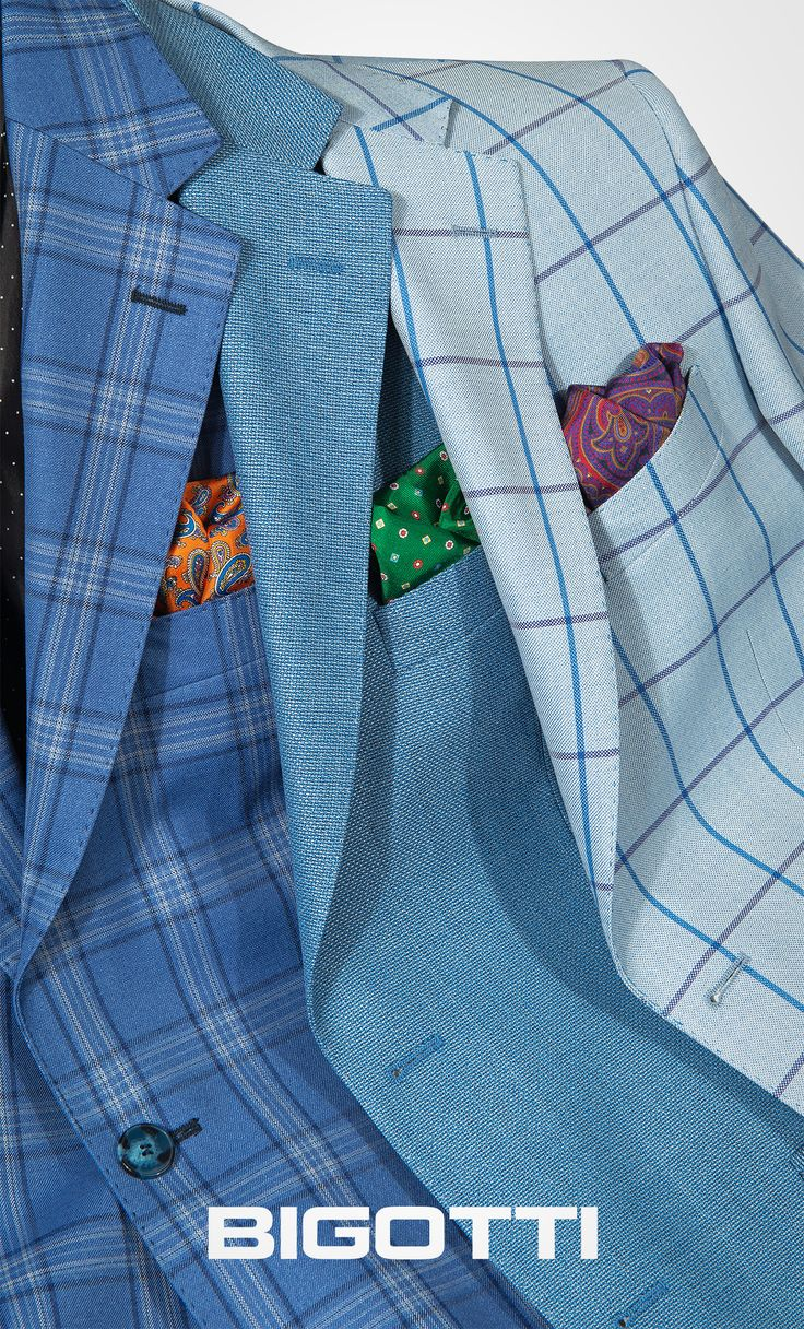 #Checks or #plain - the #blue #blazer will #add #style and #vibrance to your #look www.bigotti.ro  #Bigottiromania #moda #barbati #sacouri #albastru #carouri #uni #accesorii #mensfashion #menswear #mensclothing #mensstyle #jackets #accessories #ootdmen #ootd #fashiontag #inspiration #followus #stylingtips #wardrobe