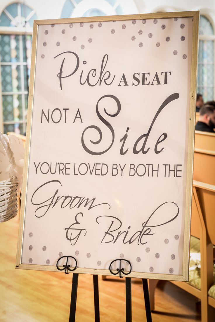 Clever rhyme from this wedding ceremony sign at Disney's Wedding Pavilion. Photo: Joe, Disney Fine Art Photography