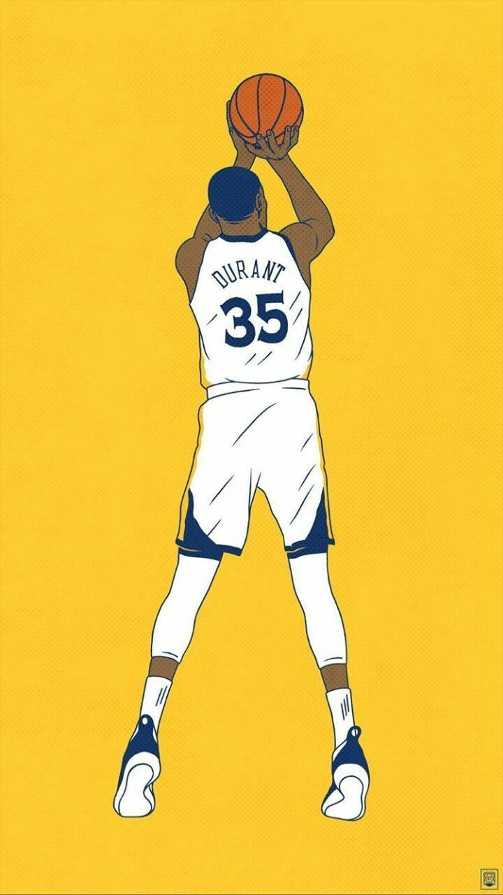 Kevin Durant Phone Wallpaper In 2020 Nba Basketball Art Kevin Durant Wallpapers Basketball Players Nba