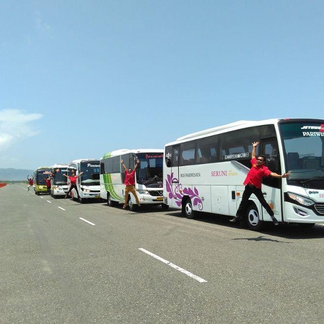Sewa Bus Pariwisata di Jogja Harga Mulai 1,3 Juta / day Telp 085647891356 | Oke Review