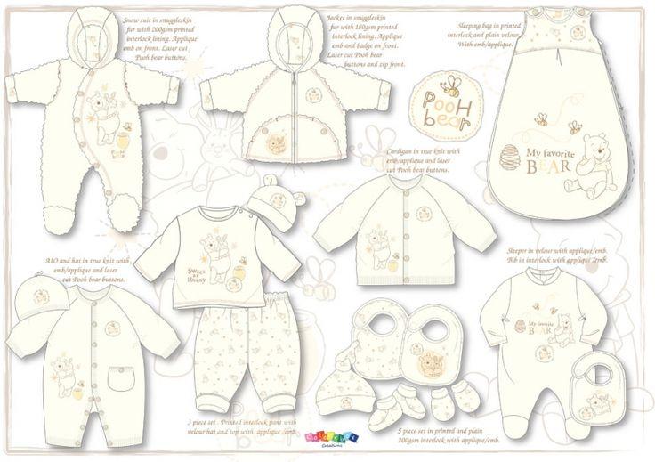 Winnie the Pooh babywear