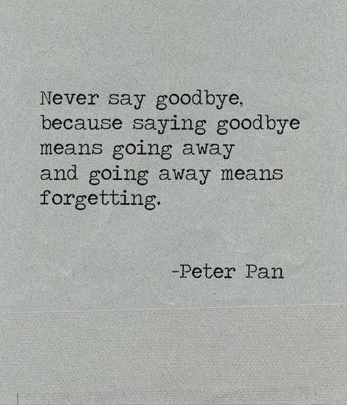 Peter Pan, J.M. Barrie | Quotes and nice sayings | Pinterest