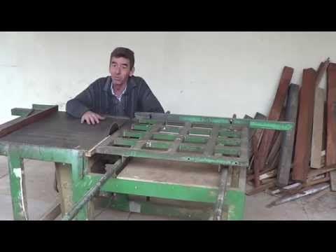 Serra de Mesa e Esquadrejadeira (Table Saw Homemade) - YouTube