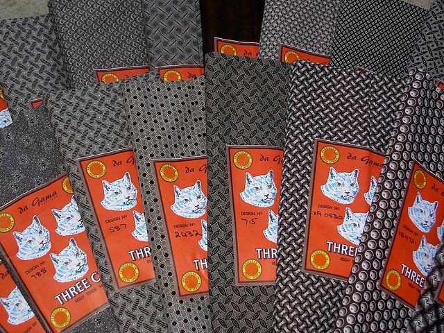 Shweshwe fabric from Da Gama Textiles