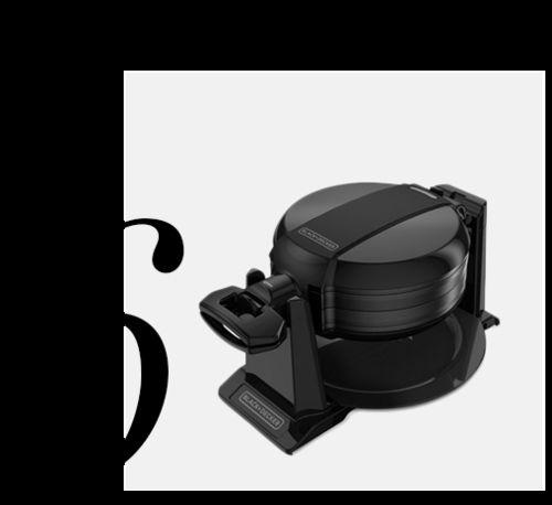 WMD200B-Double-Flip-Belgian-Waffle-Maker-Black-Decker-top-10-black-colored-kitchen-accessories-home-decor-ideas-kitchen
