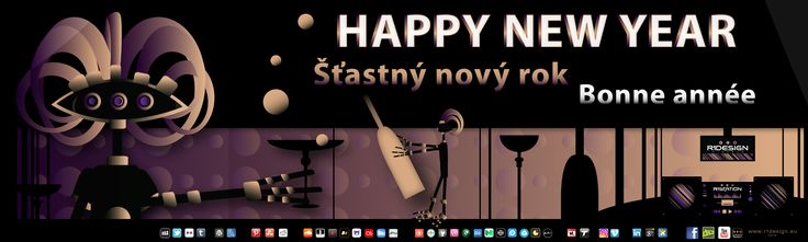 Happy new year !!!  Wishing everyone a happy new year; a successful and rewarding 2017 full of pleasant and desirable moments. http://r1design.deviantart.com/art/New-year-greeting-654448105