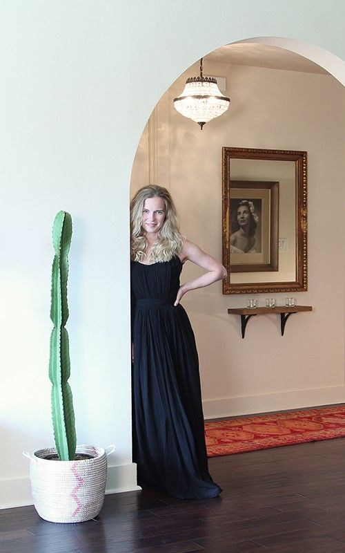 at home with Jennifer Rose Smith, arched doorway