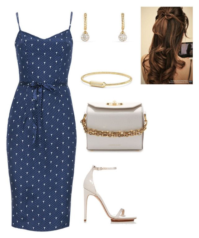 """""""Untitled #753"""" by lovelifesdreams on Polyvore featuring HVN, Alexander McQueen, Calvin Klein and David Yurman"""