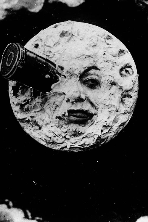 "One of my favorite graphics! Still from ""Voyage dans la Lune"" (A Trip to the Moon), 1902, by Georges Méliès. °"