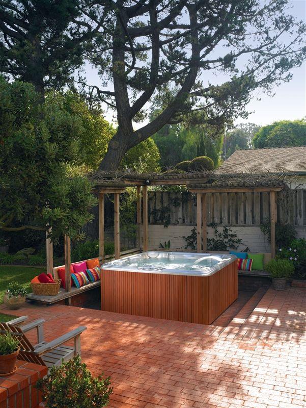 137 best Hot Tubs images on Pinterest | Arquitetura, Backyard ...