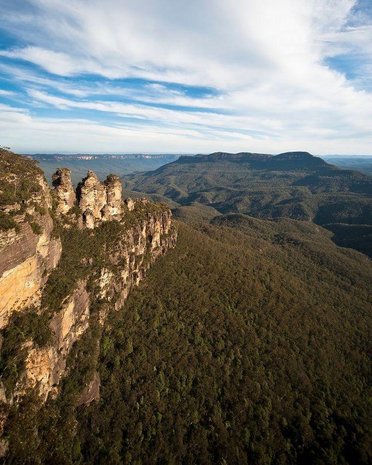 Fine Art Print 16 x 20 -  Australian Landscape Series - The Three Sisters