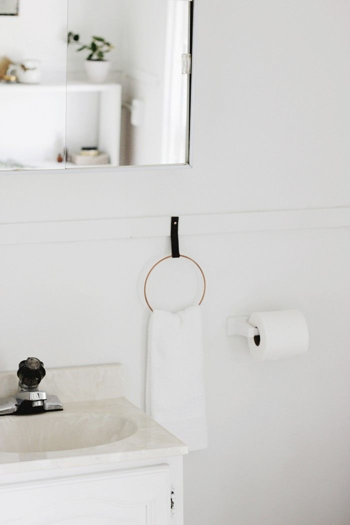 DIY Hand Towel Ring, from The Merrythought