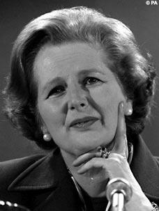 Margaret Thatcher - hmmm...evaluating signal