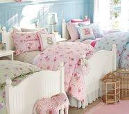 Girl Rooms: Little Girls, Girls Bedrooms, Duvet Covers, Shared Rooms, Twin Beds, Comforter, Pottery Barns Kids, Girls Rooms, Kids Rooms