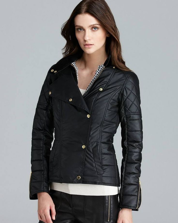 Barbour Axle Moto Jacket from the International Collection