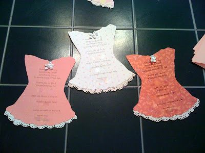 DIY Lingerie Shower Invite Instructions - Incase I ever throw another one