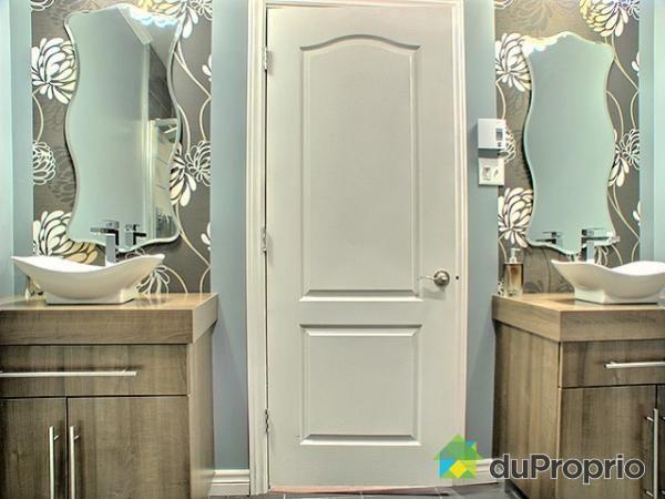 Salle de bain de rêve à voir à Rosemont / La Petite Patrie #DuProprio