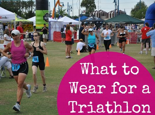 What to Wear for a Triathlon | Fit Bottomed Girls