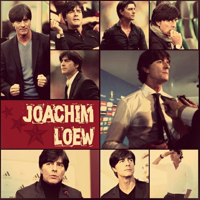 "Fashionable Coach ever! ""Joachim Löw""  He's Hot!"