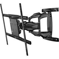 """Peerless SA771P Smartmount Articulating Wall Arm for 37"""" to 71"""" Flat Panel Screens, 200lb Load Capacity, Gloss Black by Peerless. Save 38 Off!. $196.85. From any angle, this Peerless SA771P Universal Articulating Wall Arm (Gloss Black) reflects remarkable form and function. The flat panel screen extends up to 27.55"""" from the wall for viewing in any part of the room. Fine-tuning of the installation is simple with its side-to-side screen leveling and 1"""" of vertical adjustment features that…"""